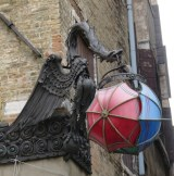 One of our favorite Venetian street sculptures.