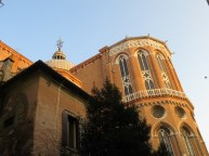 Basilica of SS. Giovanni & Paolo in the sunrise.