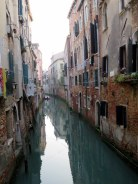 Quiet canal.