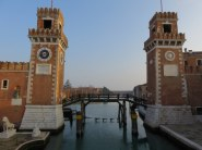 Arsenale early morning. We love to go out and walk as the city wakes up.