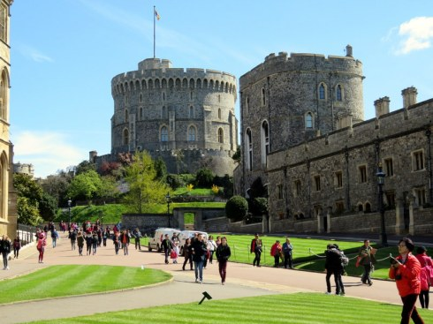 ANother lovely view of Windsor Castle. The weather was the best we had in a week in London.