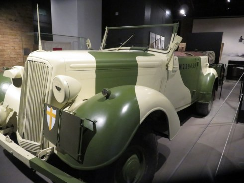 Montgomery's jeep at teh Imperial War Museum.