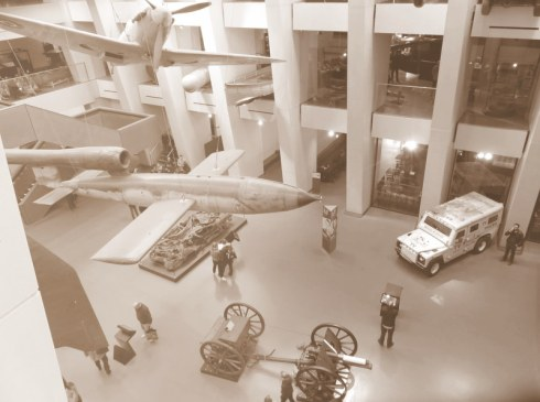 Imperial War Museum, view to the main hall.