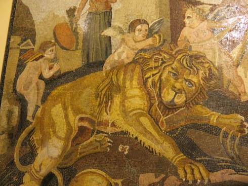 Fabulous mosaic from Anzio, 1st century B.C.