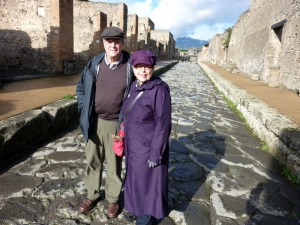 At Pompeii, December 2011.