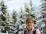 Aren't the trees amazing? How fun an early snow and the hiking was easy!
