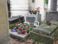 Jim Morrison is buried here.