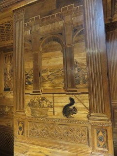 Palazzo Ducale door detail. There are amazing original doors like this throughout. I like the squirrel.