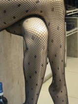 Get ready for fishnet stockings! Saw them everyhere! Bra, Alba, and Cuneo have an amazing array of fashionable shops.