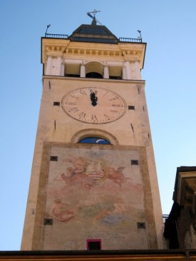 Cuneo has several interesting bell towers.