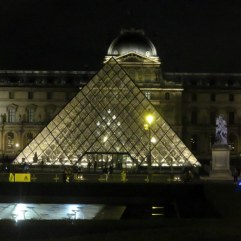 The Louvre, seen from Bustronome.