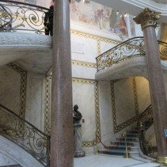 The double grand staircase. This picture does not do it justice.