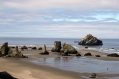 Bandon Islands State Park preserves the offshore rocks as sanctuary for birds.